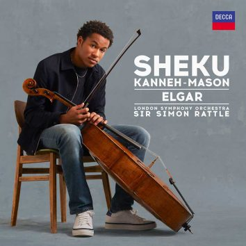 Sheku Kanneh-Mason Elgar album cover