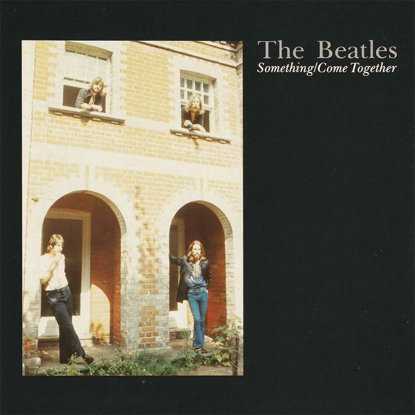 The Beatles Something single artwork