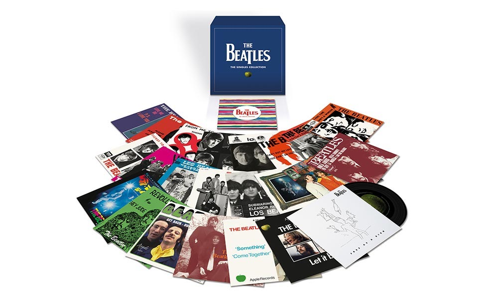 The Beatles Polska: The Beatles - The Singles Collection (2019)