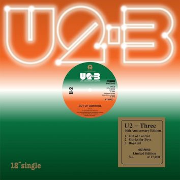 U2 Three reissue 12 Inch artwork