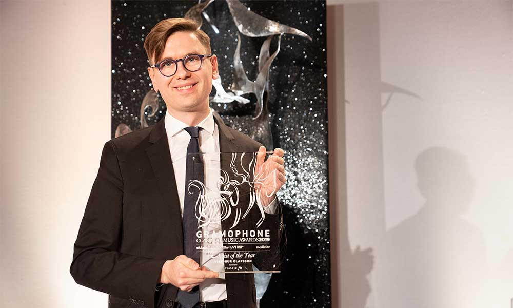 Vikingur Olafsson Gramophone Artist of the Year - photo