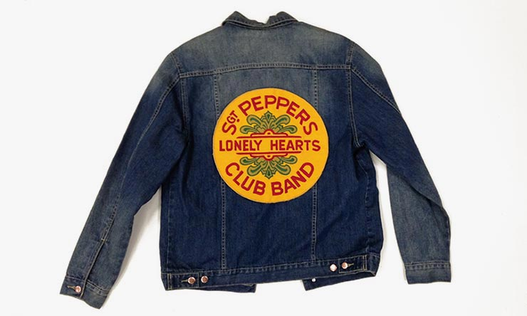 Beatles Sgt Pepper's Lonely Hearts Club Band denim jacket