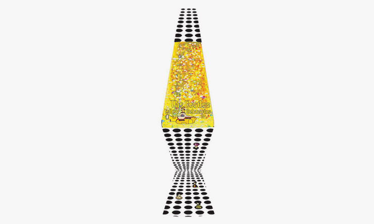 Beatles yellow submarine sea of holes lava lamp 740