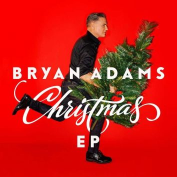 Bryan Adams Christmas EP artwork
