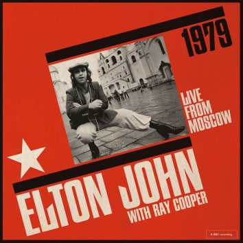 Elton John Live From Moscow artwork