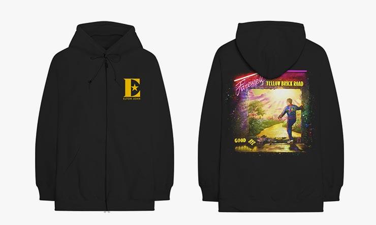 Elton John Neon Tour Hoodie 740