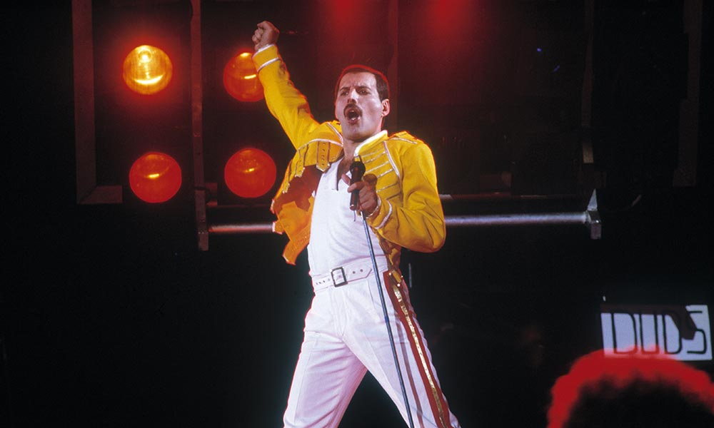 Freddie Mercury Yellow Military Jacket 1000 CREDIT Queen Productions Ltd 1000