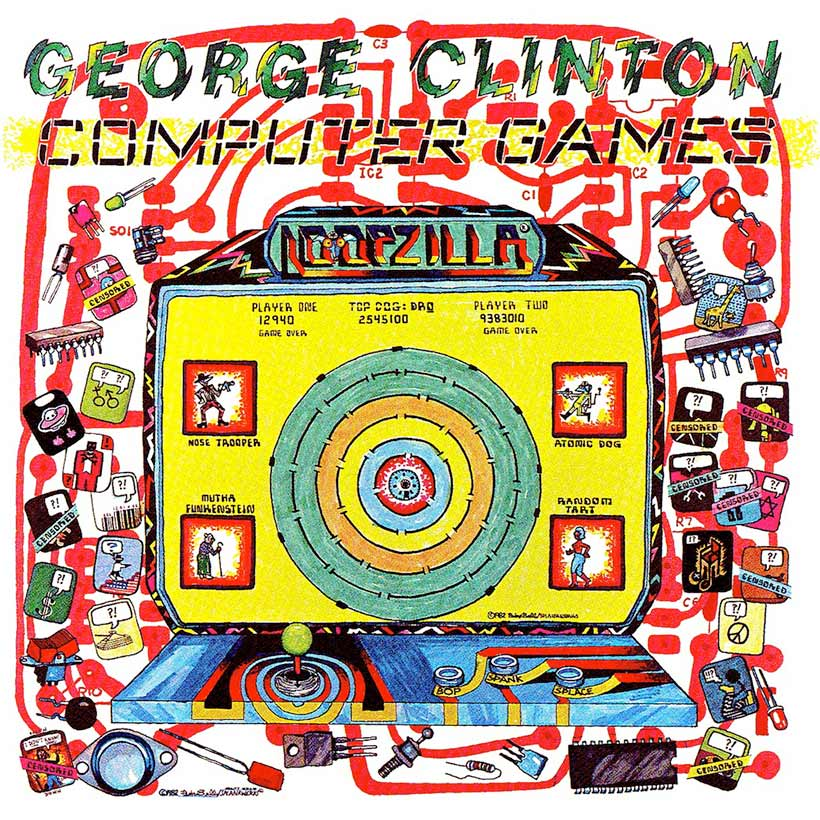 George Clinton Computer Games album cover 820