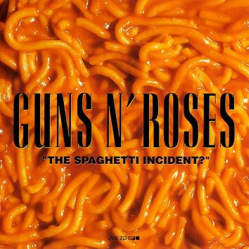 Guns N Roses The Spaghetti Incident album cover 820