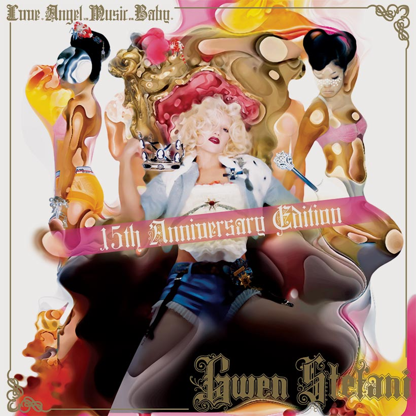 Gwen Stefani Love Angel Music Baby 15th anniversary edition album cover 820