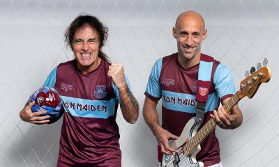 Iron Maiden West Ham Football Kit Collaboration
