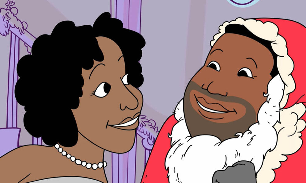 Jackson 5 Mommy Kissing Santa Claus Video