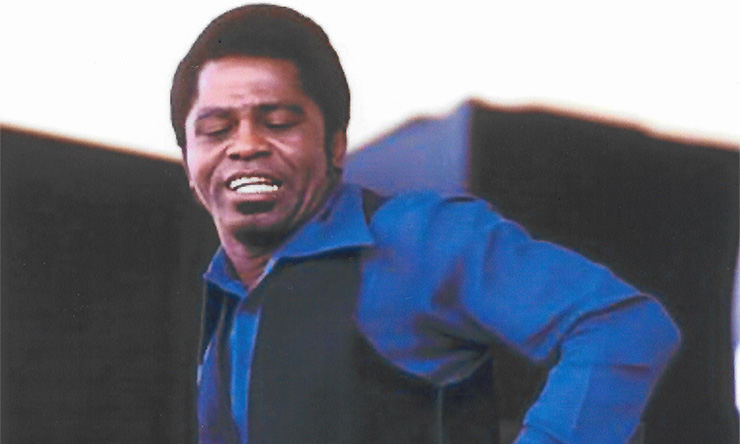 James Brown Live At Home With His Bad self 02 courtesy of Alan Leeds Archives 740