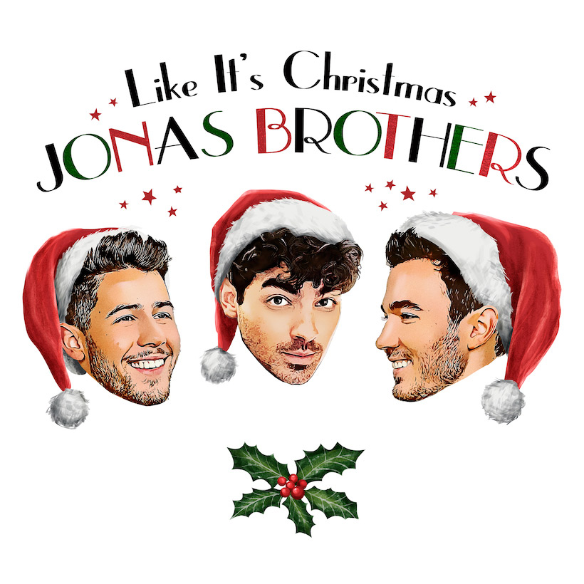 Jonas Brothers Like It's Christmas
