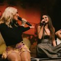 Julia Michaels & Selena Gomez Surprise Fans With Special Performance Of 'Anxiety' In LA