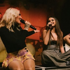 Julia Michaels Selena Gomez Anxiety Live