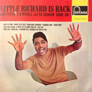 Little Richard Is Back album
