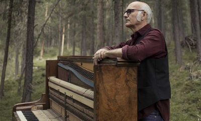 Composer Ludovico Einaudi - photo at piano