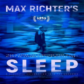 Max Richter Sleep documentary poster