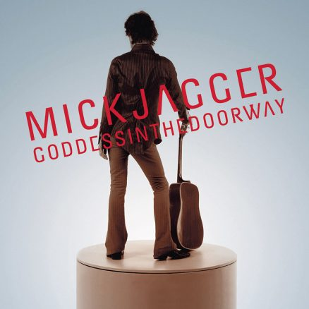 Mick Jagger Goddess In The Doorway album cover 820
