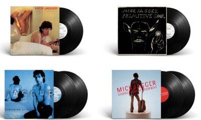 Mick Jagger solo album packshots