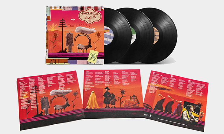 Paul McCartney Egypt Station Explorer's Edition 740