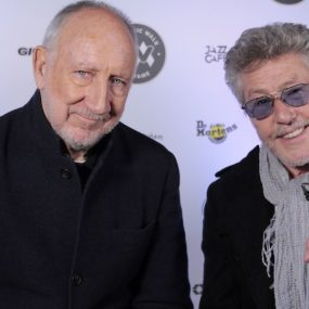 Pete Townshend Roger Daltrey courtesy Music Walk Of Fame