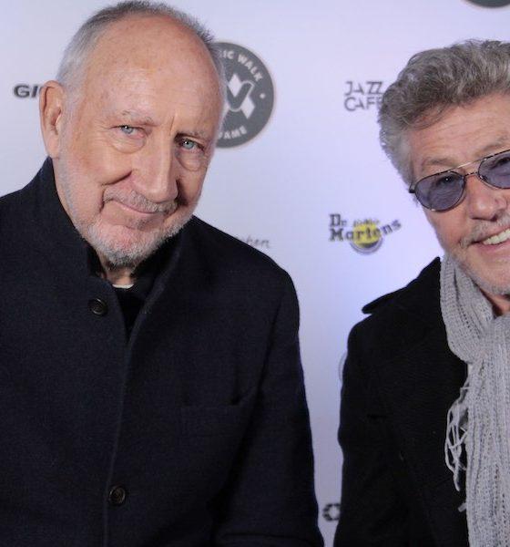 Pete Townshend Roger Daltrey courtesy Music Walk Of Fame