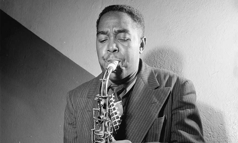 Charlie Parker Carnegie Hall c 1947 courtesy William P Gottlieb/Ira and Leonore S Gershwin Fund Collection, Music Division, Library Of Congress
