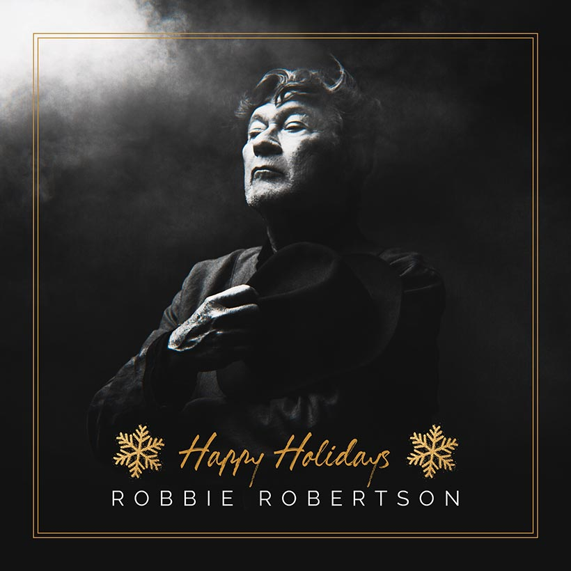 Robbie Robertson Happy Holidays cover art