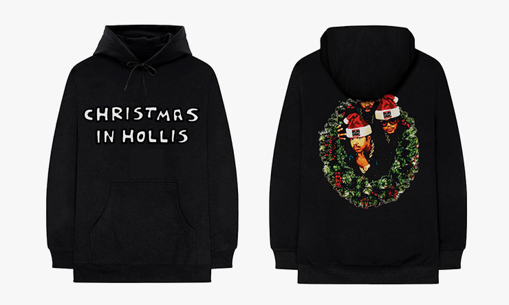 Run-DMC-Christmas-In-Hollis-black-hoodie