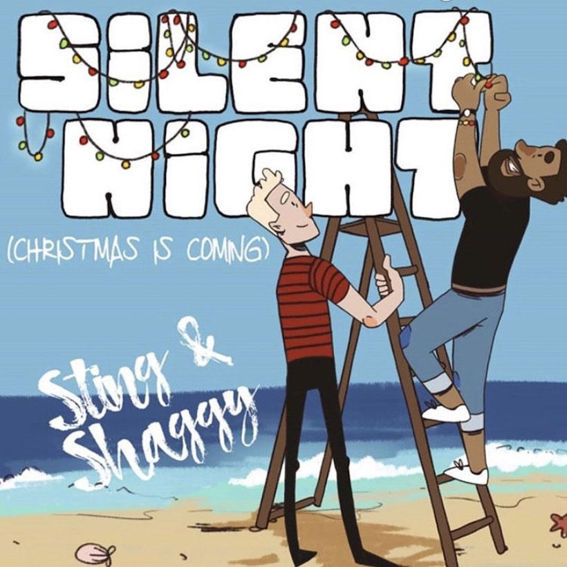 Sting & Shaggy Reunite For Festive Reggae Song 'Silent Night (Christmas Is Coming)'