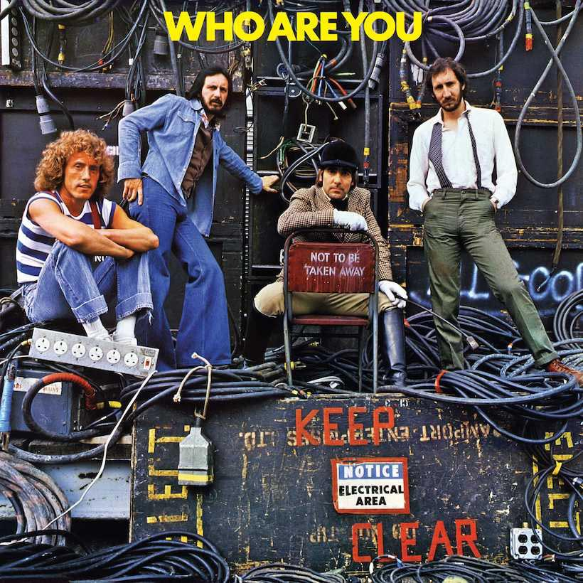 The Who Who Are You Album Cover Terry O'Neill
