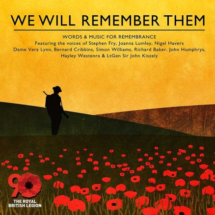 We Will Remember Them - cover