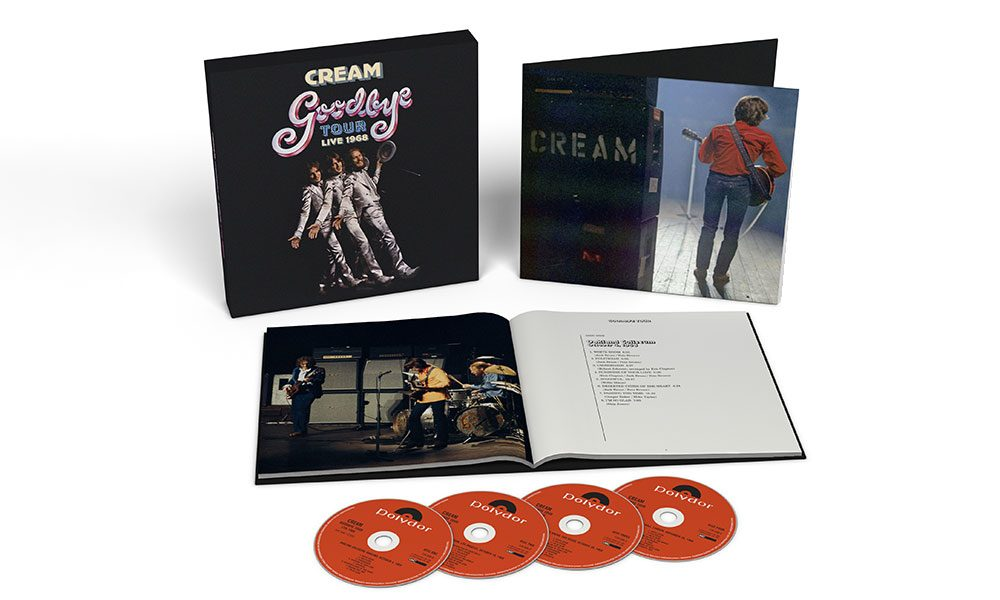 Cream Goodbye box set packshot