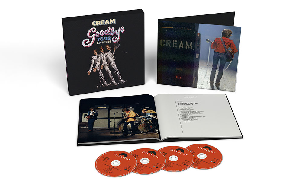 Cream Goodbye box set packshot