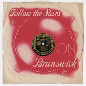 Bing Crosby White Christmas original 78 artwork