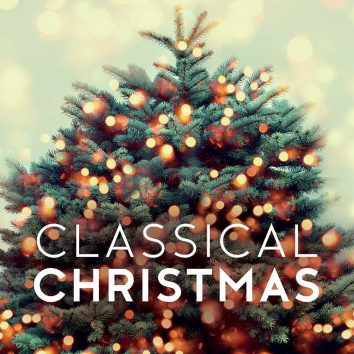 Best Classical Christmas music - christmas tree artwork