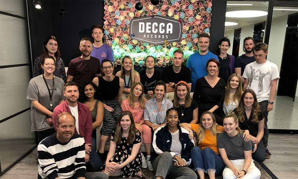 Decca Records staff courtesy Decca