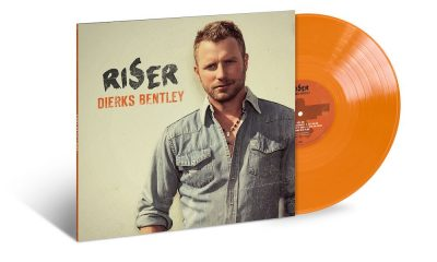 Dierks Bentley Riser Orange Vinyl