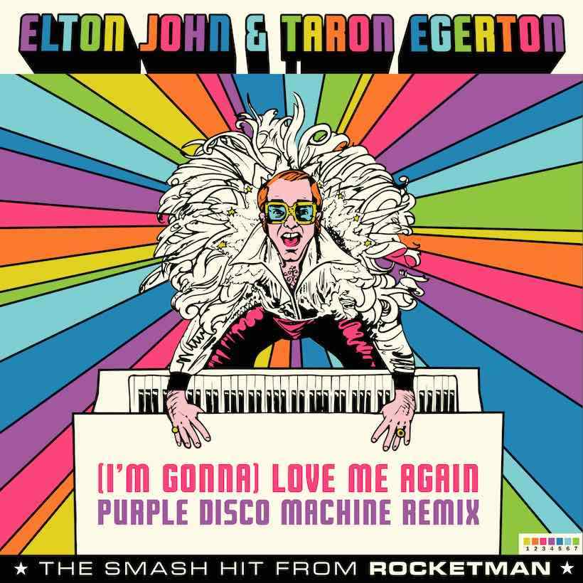 I'm Gonna Love Me Again remix artwork