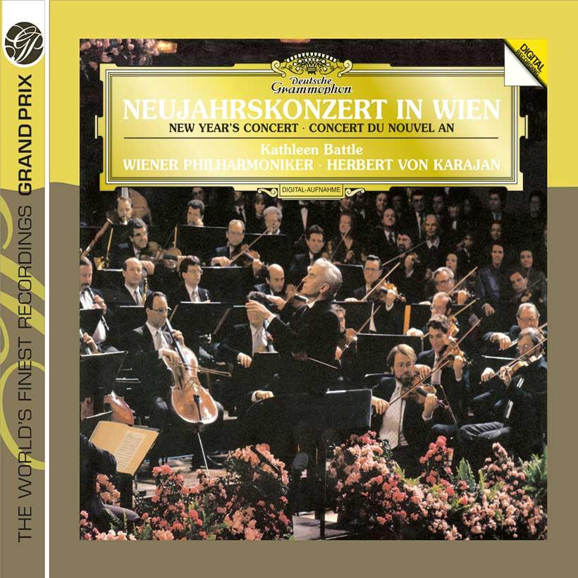 Karajan New Years Concert 1987 - album cover