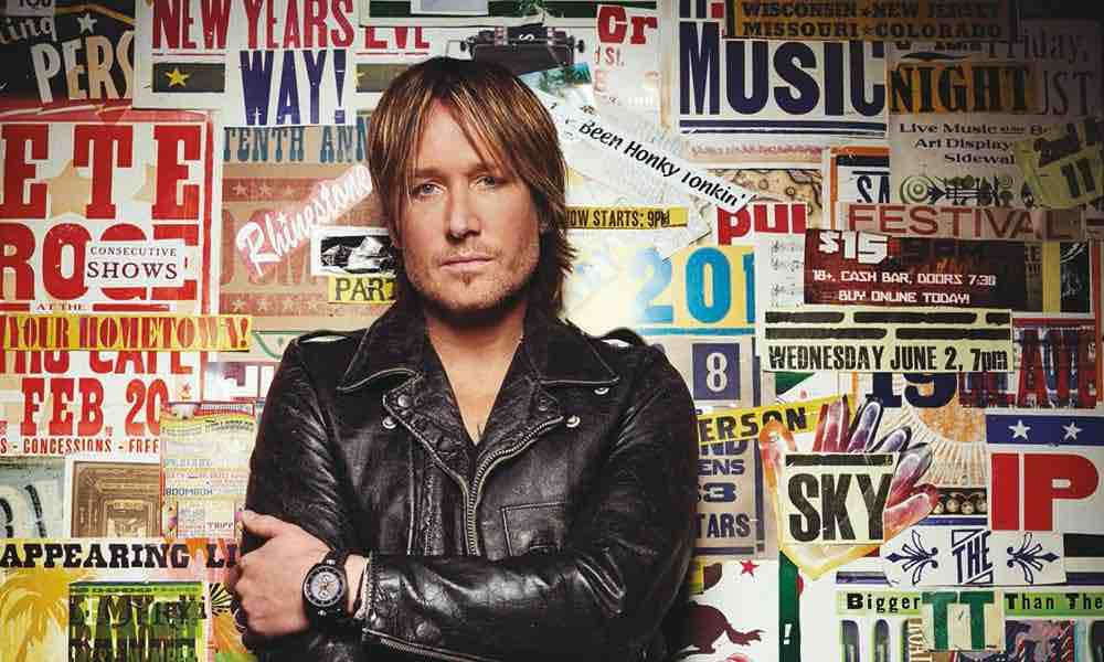 Keith Urban press photo credit Russ Harrington - ACM Awards