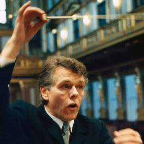 Photo of conductor Mariss Jansons