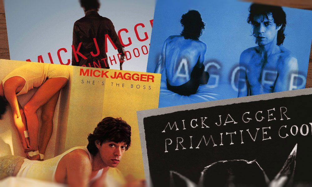 Mick Jagger solo albums