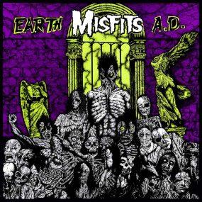 Misfits Earth AD album cover 820