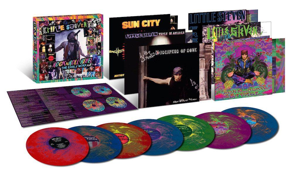 Little Steven Releases Solo Box Set: 'RockNRoll Rebel – The Early Work'