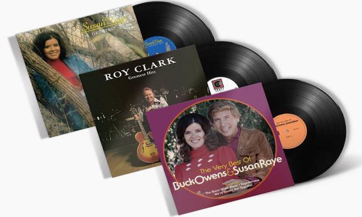 Susan Raye Roy Clark Buck Owens packshot