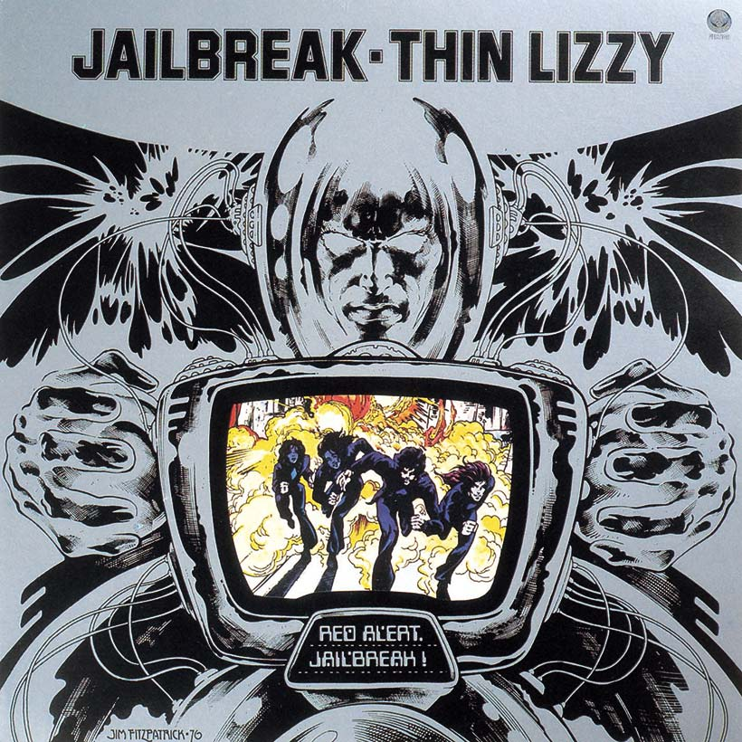 Thin Lizzy's 'Nightlife', 'Fighting' And 'Jailbreak' Set For 180g Vinyl Reissue