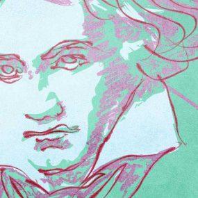 Beethoven Emperor concerto - composer portrait